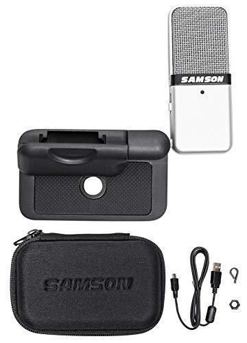 Samson GOMIC Go Mic USB Podcast Studio Recording Condenser Microphone+Clip+Case