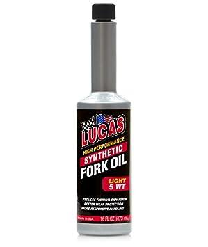 Lucas Oil Aceite sintético para Amortiguador 10771, 5 WT, 473 ml: Amazon.es: Coche y moto