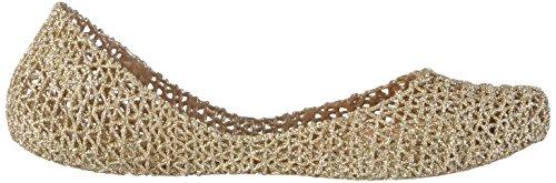 Melissa Dames Campana Papel Vii Gesloten Ballerina Goud (goud Glitter 50712)