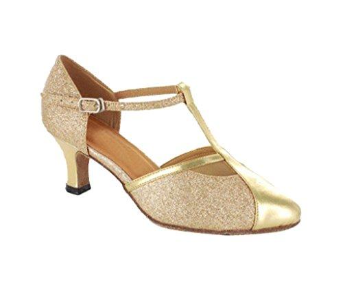 TDA - Sandalias con cuña mujer 6cm Gold