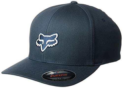 Fox Men's Legacy Flexfit HAT, Navy, XS/S