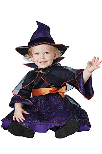 18 To 24 Month Costumes (California Costumes Baby Girls' Hocus Pocus Infant, Purple/Black, 18 to 24 Months)