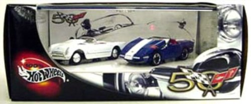 Hot Wheels 50th Anniversary Corvettes