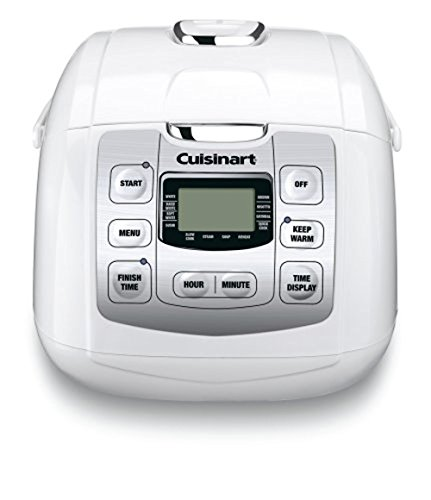 Cuisinart Fuzzy 8-Rice Cooker, White (Certified Refurbished)