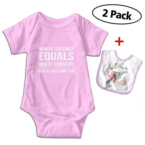 Love Taste Black Lives Matter Baby Bodysuits Short-Sleeve On