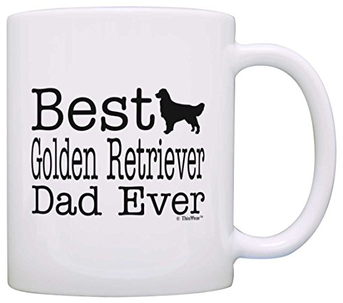 Lover Golden Retriever Supplies Coffee