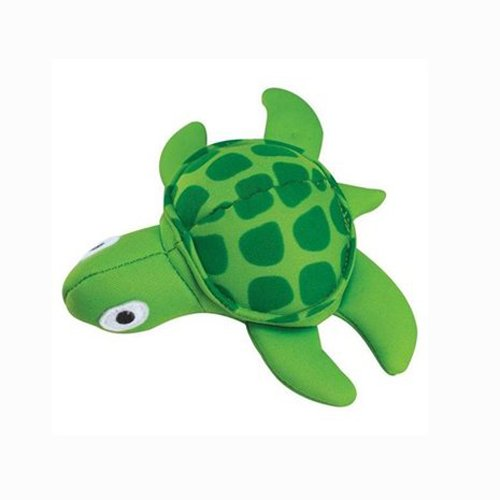 Grriggles 5-Inch Neoprene Floaty Mini Dog Toy, Turtle, My Pet Supplies