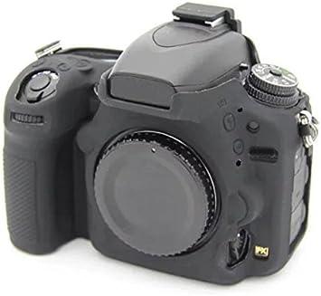 Hihouse Funda de Cámara Deportivas Caja de Protección de Silicona Suave Para Nikon 750D (negro): Amazon.es: Hogar