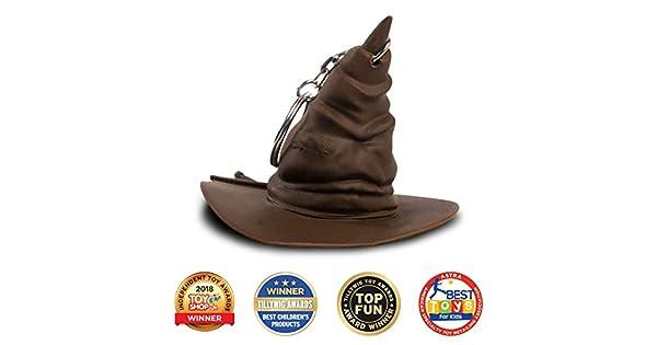 Amazon.com: Wizarding World - Llavero, diseño de sombrero ...