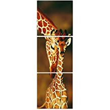 Canvas print Wall decor Giraffe Mom and Baby Pictures Print On Canvas Animal Artwork Stretched Canvas art The Picture For Home Modern Decoration