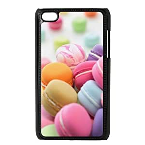 Ipod Touch 4 Macaron Phone Back Case DIY Art Print Design Hard Shell Protection YT073889