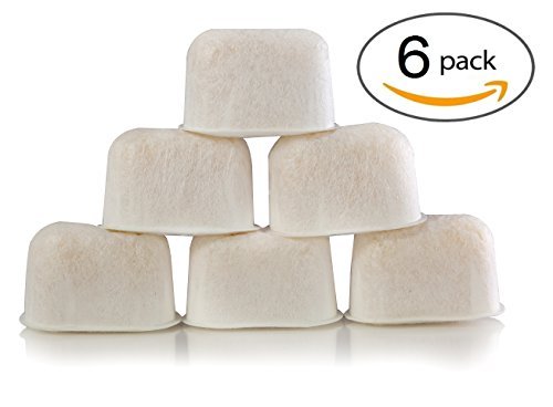 6-Pack of Breville BWF100 Compatible Water Filters (Ion Exchange Resin)