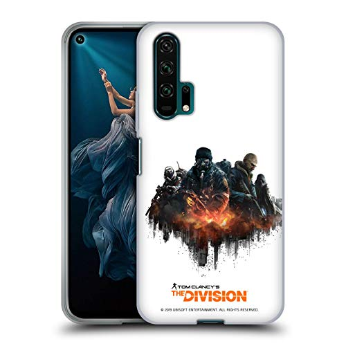 Official Tom Clancy's The Division Group Factions Soft Gel Case Compatible for Huawei Honor 20 Pro