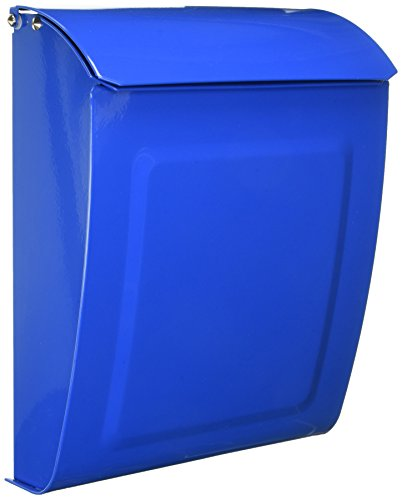 Architectural Mailboxes 2594BE Blue Aspen Locking Wall Mount Mailbox ()