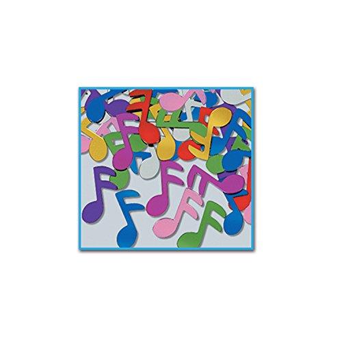 Fanci-Fetti Musical Notes (multi-color) Party Accessory (Value -
