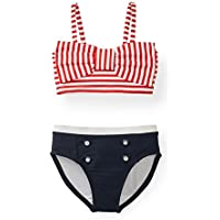 Hope & Henry Girls' Two Piece Swimsuit