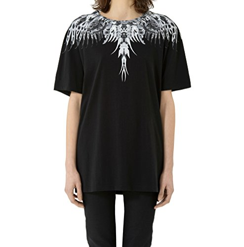 MARCELO BURLON T-Shirt Ieuvu Nero CWAA016E17047001