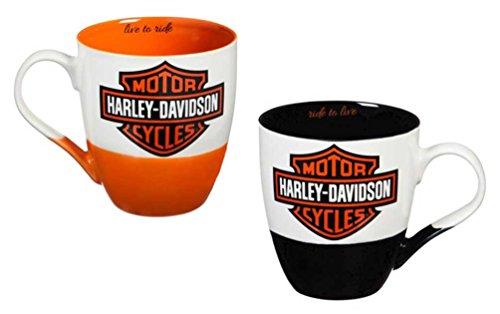 Harley-Davidson Two Ceramic Cups O