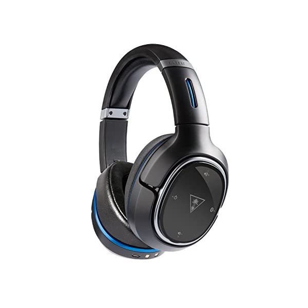 Turtle Beach Elite 800 Wireless Noise Cancellation Gaming Headset for PS4  Pro/PS4/PS3, Black (Renewed)
