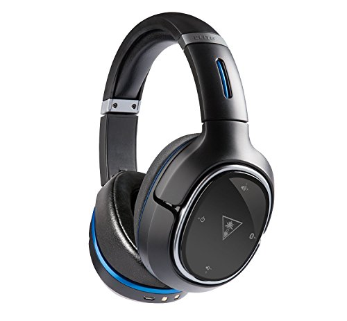 Turtle Beach Elite 800 Premium Wireless Surround Sound Noise Cancellation Gaming Headset for PS4 Pro/PS4/PS3, Black (Certified Refurbished)