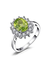 JewelryPalace Princess Diana Engagement Ring 925 Sterling Silver
