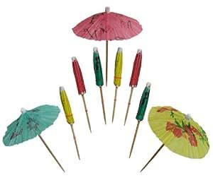 Set of 48 Drink Umbrella Pick Sticks