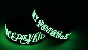PIERCE THE VEIL MY CHEMICAL ROMANCE Glow in the Dark Bracelet Wristband V7M7