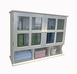 Homecharm 31.5x9.6x24-Inch Wall Cabinet,...
