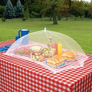 Large Giant Table Mesh Umbrella Table Top Food Cover 48u0026quot; ...