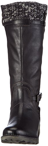 Tamaris 26606 - botas de caño alto de material sintético mujer negro - negro