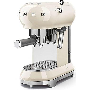 Smeg Espresso Machine Cream ECF01 CRUS