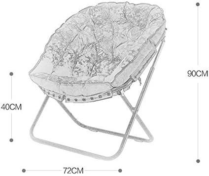 ZXQZ Fauteuil Salon Salon Fauteuil Seul Mini Salon Canapé Chaise Chaise Longue Pliante (Couleur : Black)