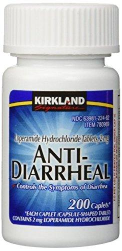 Kirkland Signature Anti-Diarrheal 200 Count Bottle