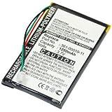 subtel® Batterie pour Garmin nüvi 760 Nüvi 760 TFM nüvi 760T nüvi 765 Nüvi 765 TFM nüvi 765T - 1250mAh batterie de rechange Garmin 361-00019-11