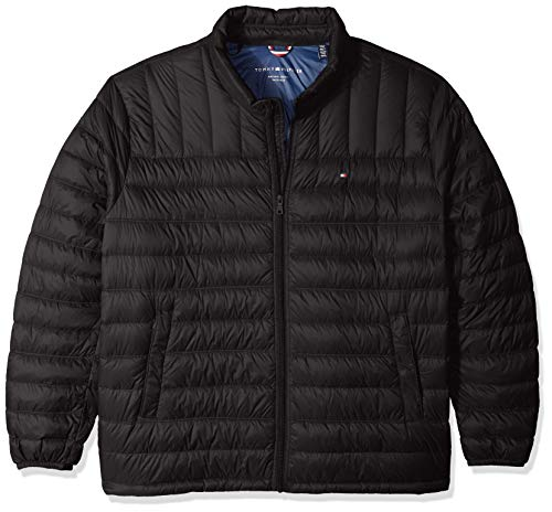 Tommy Hilfiger Men's Packable Down Jacket (Regular...