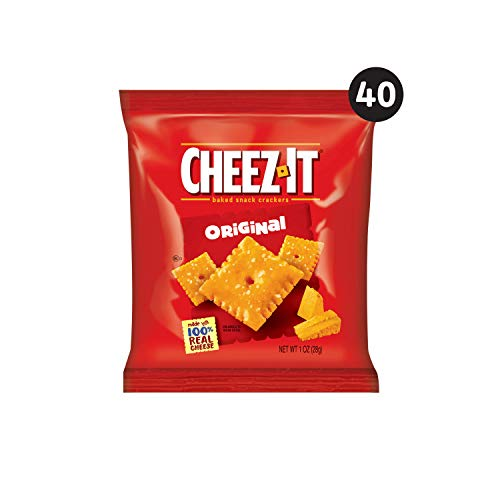 Cheez-It Baked Snack Cheese Crackers 40-Count Only $8.31