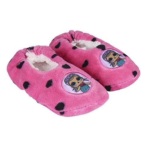 L O L Surprise! | Zapatillas De Estar por Casa Niña | Zapatillas Antideslizantes | Felpa Suave Y Acogedora | Forro Polar…
