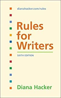 custom rules for writers 8th edition