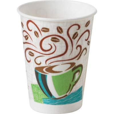 Dixie Foods Products - Perfect Touch Hot Cup, 8 oz, 500/CT - Sold as 1 CT - PerfecTouch Hot Cups insulate and protect as well as double-cupping. No need to rely on double-cupping paper hot cups to avoid burning fingers. Hot cups contain no polystyrene foam. Lids are sold separately.