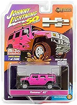 Johnny Lightning Hummer H2 Pink JLCP7210 1//64 2,400 PCS