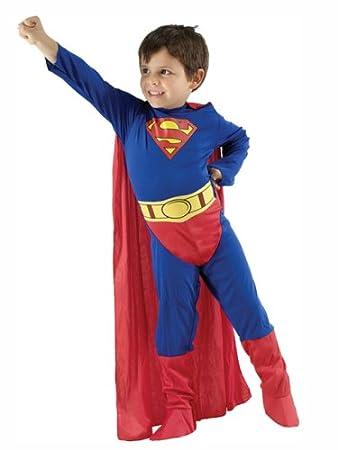 Amazing Superman Costume   Childu0027s Fancy Dress   Small: Amazon.co.uk: Toys U0026 Games