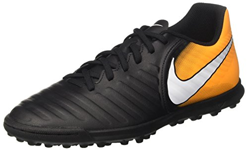 laser Boots Tiempox Black Men Black Orange Iv NIKE Rio volt White Football Tf 's qPx0Z