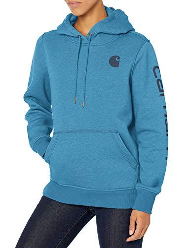 Carhartt Women's Clarksburg Graphic Sleeve Pullover Sweatshirt (Regular and Plus Sizes)