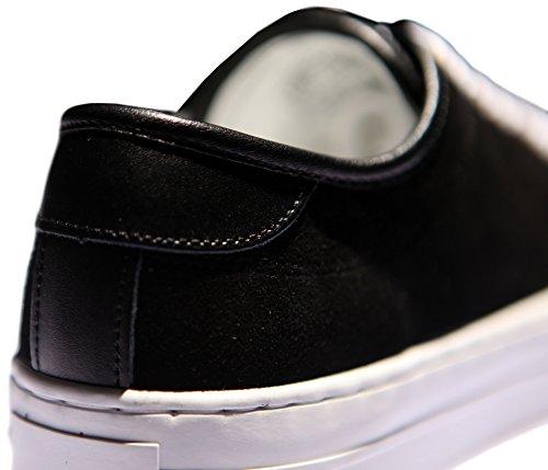 Zapatillas De Deporte Negras Hechas A Mano De Blacklabel Pp2014 Mujeres Negras 10.5 / Hombres 9.5
