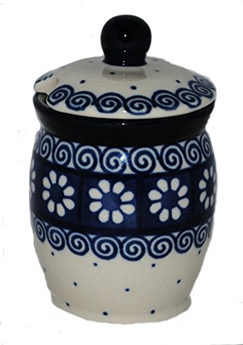 Bunzlauer Keramik Senftopf, Behälter (168-BM254)