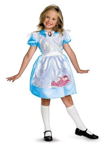 Alice Classic Costume - Medium - Classic Alice In Wonderland Costume Ideas