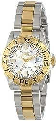 Invicta Women's INVICTA-14371 Pro Diver Analog Display Swiss Quartz Two Tone Watch