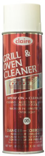 Claire C-826 18 Oz. Grill & Oven Cleaner Aerosol Can (Case of 12)