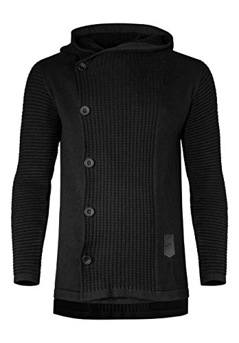 2dba535d83 ReviewMeta.com  PASS  MIEDEON Mens Casual Stand Collar Cable Knitted ...