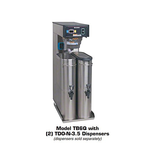 - Bunn (36700.0301) - 27 gal/hr Twin Iced Tea Brewer - TB6Q
